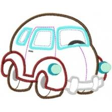 Funky Vehicles Appliques