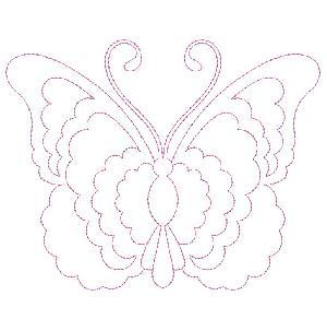Trapunto Butterflies