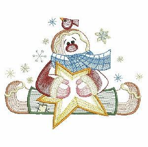 Folk Art Gingerbread Man