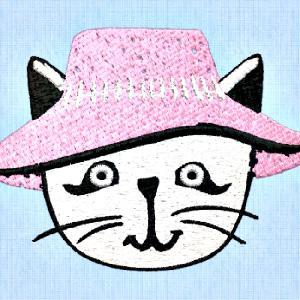 Miss Kitty in her bonnet
