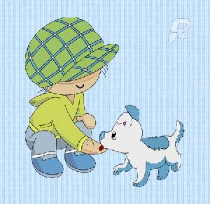 Sam and his Puppy