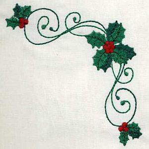 TT308 Festive Holly