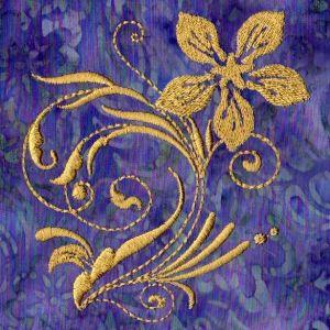 TT424 Floral Golden Glow