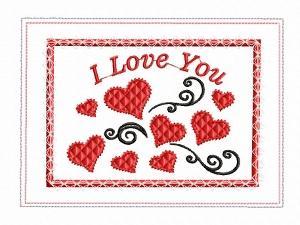 ITH Valentine Mug Rug