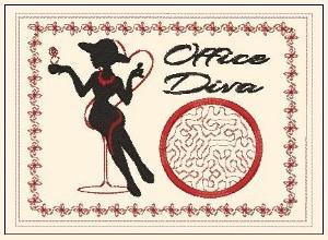 ITH Office Diva Mug Rug
