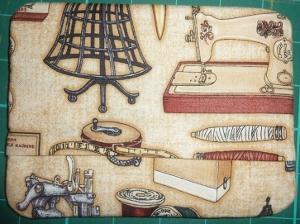 ITH Sewing Room Mug Rug No2