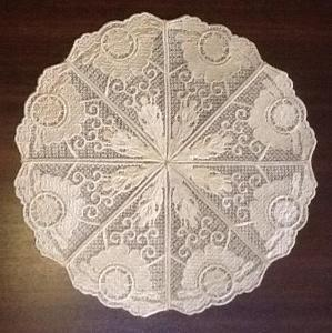 Free Standing Lace Doily No 1