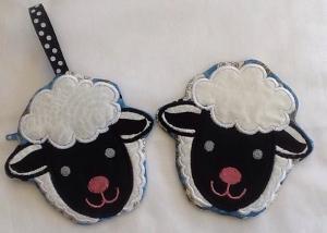 ITH Lamb Zipper purse