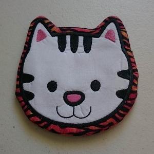 ITH Applique Cat mugrug