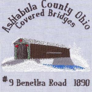 Christmas Covered Bridges<br>Of Ashtabula County Ohio