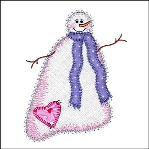 Valentine Snowmen