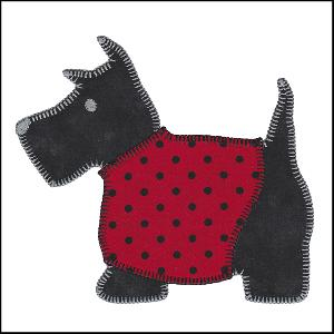 Sizzix Scottie Dog