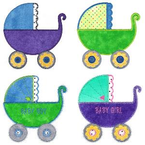 Sizzix Baby Carriage