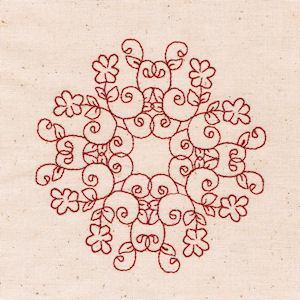 Quilting Floral 01