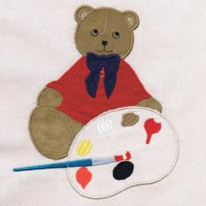 Applique Ragdoll Bears