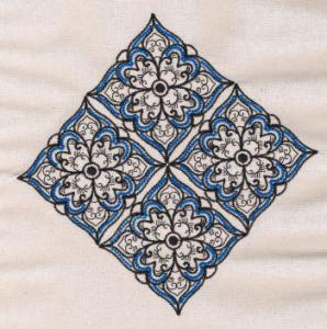 Sweet Serenade Candlewick Quilt Blocks