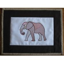 Fanciful Elephants Set 1 Large -5