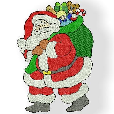 5 X 7  Santa Set 3