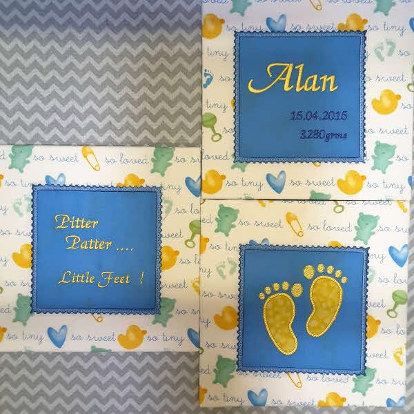 Feet Quilt Blocks