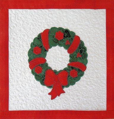 Christmas Applique Quilt