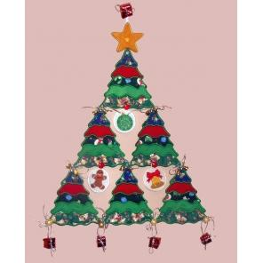 Applique Christmas Tree