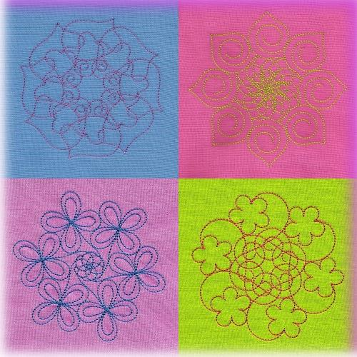 Nellies Quilt Stipple Collection 2