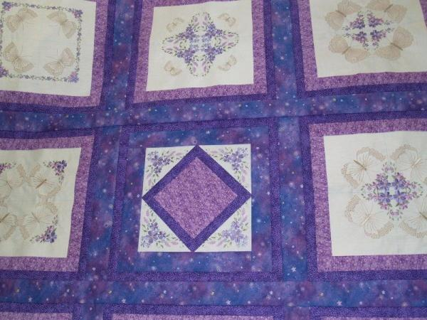 8x8 Butterfly Quilt 1