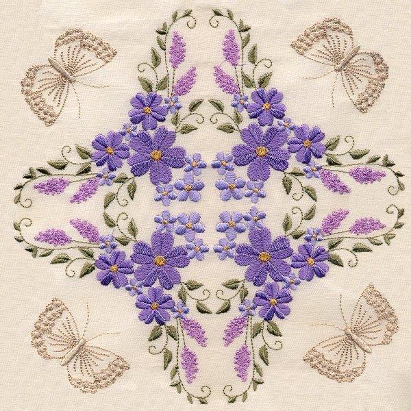 8x8 Butterfly Quilt 1