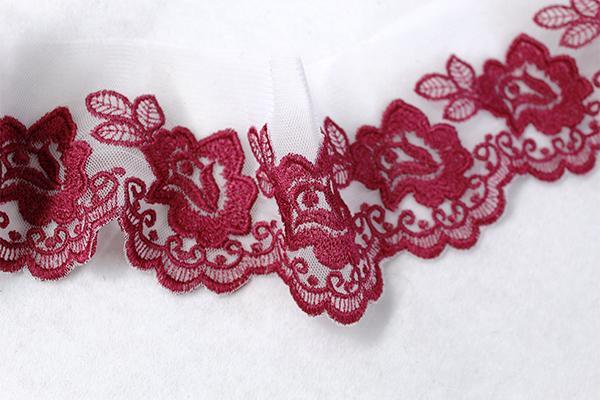 Flower Open Rose Lace 5x7