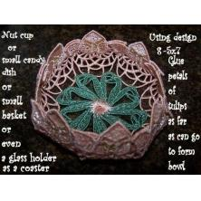 Free Standing LaceTulip Doilies