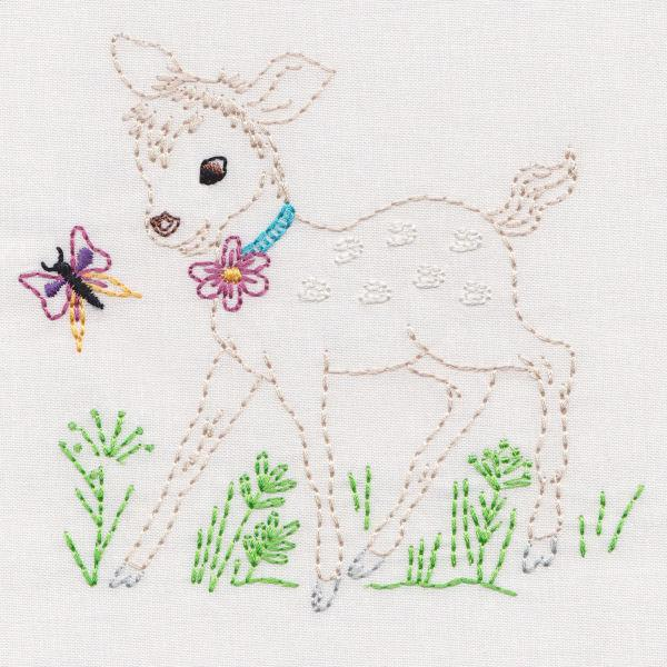 Vintage Garden Animals And Friends Colorwork
