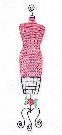 Dainty Dress Form