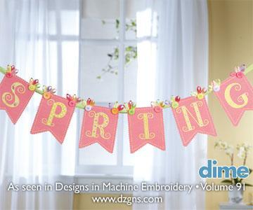 Sweet Springtime Banner