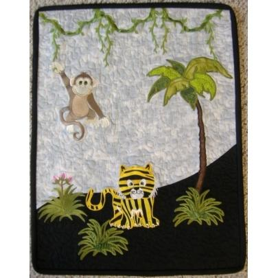 Jungle Time Wallhanging