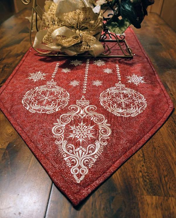 Ornaments For Christmas Runner