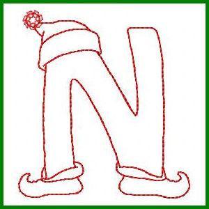 Cute Christmas Alphabet