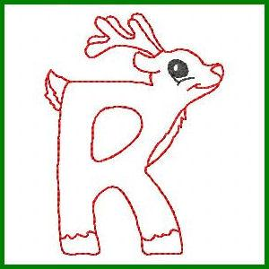 Cute Christmas Alphabet