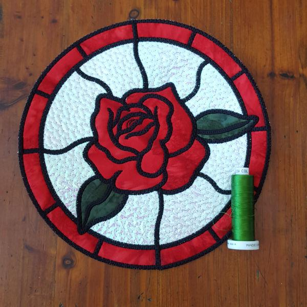 Stained Glass Collection - Roses