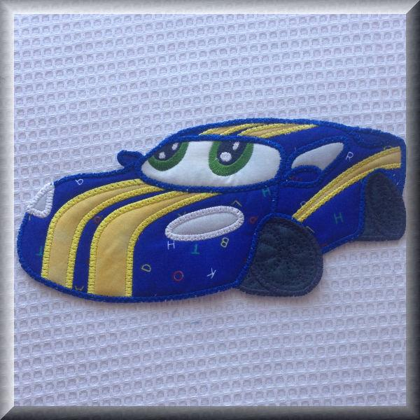 Large Car Applique
