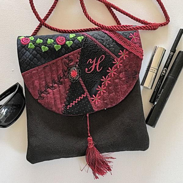 Crazy Patch Shoulder Bag