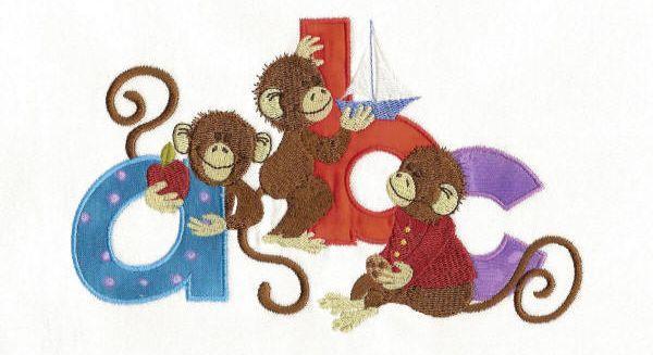 Monkey Shines Alpha Combo Set