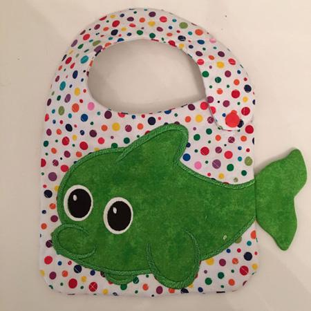 NNC ITH Fish Bib