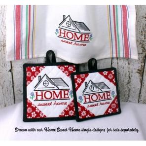 Home Sweet Home Potholders