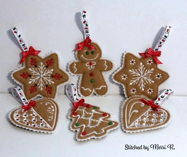 Christmas Cookie Ornaments