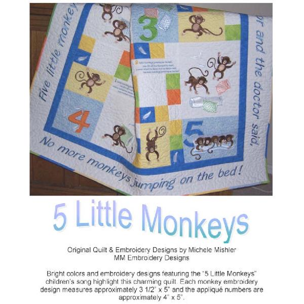 Monkey Shines Quilt Instructions