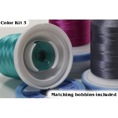 Premium Embroidery Thread - Kit 3