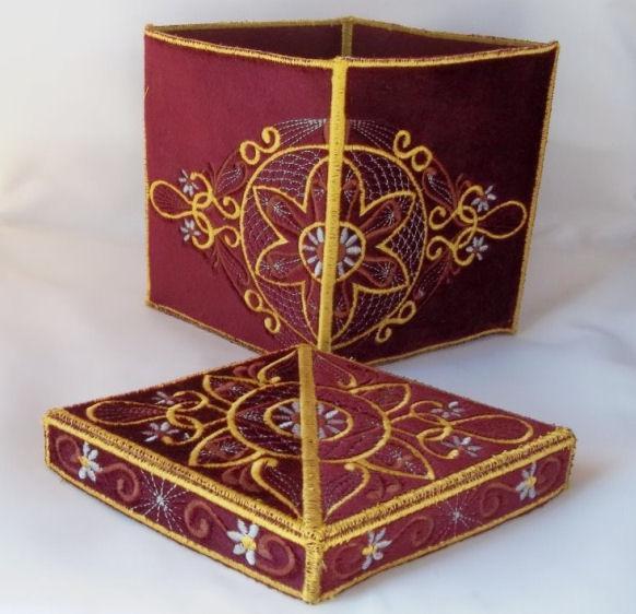 3D Oriental Box
