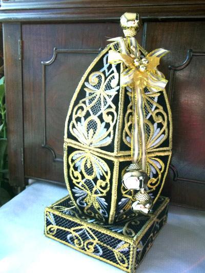 3D Oriental Easter Egg