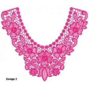 Large Indian Lace Collars