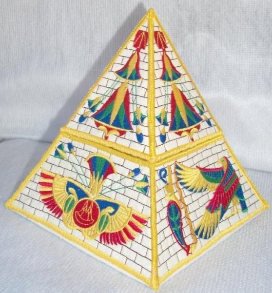 3D Egyptian Pyramid Box